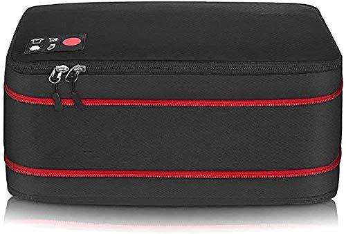 旅行用収納バッグ 超大容量 圧縮バッグ ファスナー式 スーツケース 機内持込 防水 軽量 旅行便利グッズ 出張 ジム 温泉 (�K)