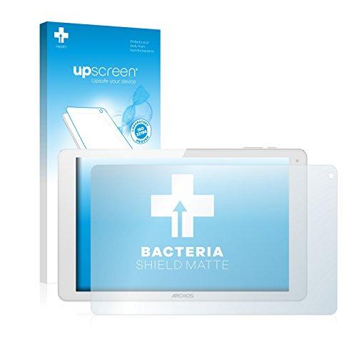 upscreen Antibakterielle Entspiegelungs-Schutzfolie kompatibel mit Archos 101b Xenon - Anti-Reflex Bildschirmschutzfolie matt, Anti-Fingerprint