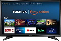 Fire TV experience built-in - Fire TV Edition brings together live-over-the air TV and your favorite streaming content on the home screen. Connect any HD antenna (sold separately) to watch live over-the-air TV or stream movies and shows from Disney+,...