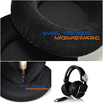 Portable Audio Headphone Generic Soft Velour Ear Pads Cushion for Sony PS3 PS4 PS Vita Pulse Headset -  Compatible Product for Sony Playstation P S 3 4 Wireless Headset