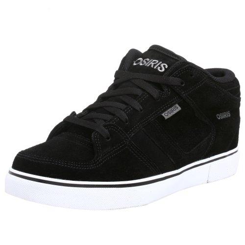 Osiris Chino Mid - Zapatillas de skate para hombre, negro, 10