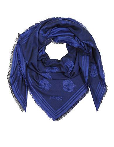Luxury Fashion | Kenzo Dames F868EU543JFB76A Donkerblauw Katoen Sjaals | Lente-zomer 20