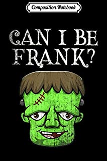 Composition Notebook: Cute Frankenstein Face Funny Saying Outspoken Monster Squad  Journal/Notebook Blank Lined Ruled 6x9 100 Pages