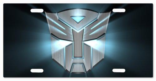 Autobot TRANSFORMERS Vanity License Plate