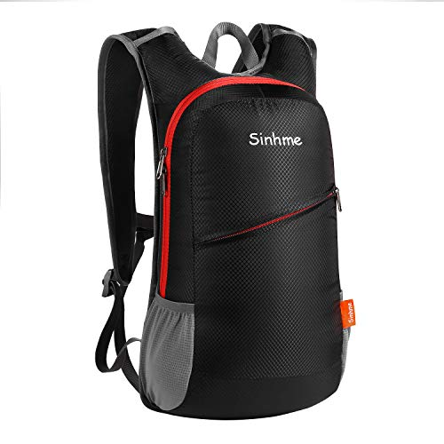 Sinhme 12L Durable Casual lightweight Hiking Backpack,Motorcycle Backpack