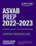 ASVAB Prep 2022–2023: 4 Practice Tests + Proven Strategies + Online (Kaplan Test Prep)