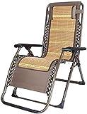 FTFTO Silla Plegable Office Life Tumbona reclinable Zero Gravity Relax Cool Cushion Taburete Plegable portátil