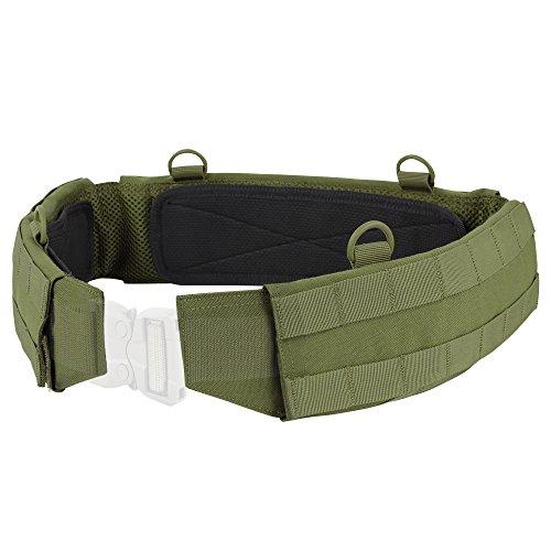 Condor Outdoor Slim Battle Belt (Olive Drab, Medium)