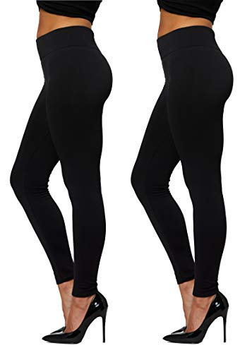 Conceited Fleece Lined Leggings for Women in 20 Colors...