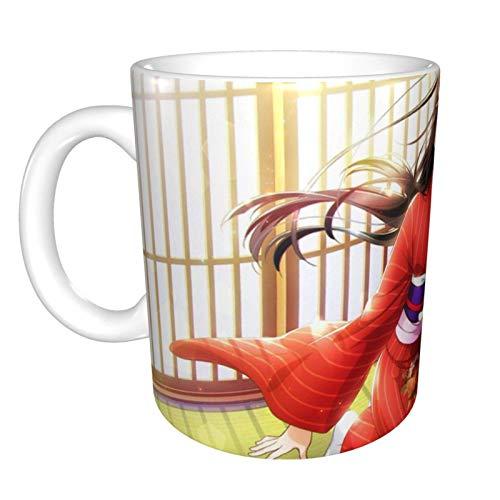 Kurosawa Dia - Taza de café de cerámica, diseño único y novedoso, ideal para regalo de cumpleaños