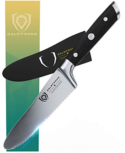 Dalstrong Ultimate Utility Knife and Sandwich Knife 6 Gladiator Series