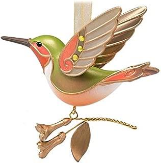 Hallmark Keepsake Ornament Golden Mystery Hummingbird Surprise Tone Beauty of Birds 2018 Repaint