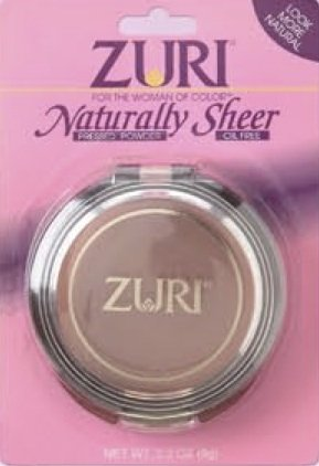 Zuri Naturally Sheer Pressed Powder - Golden Ivory