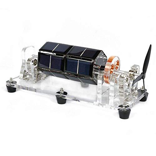 LSHUNYDE Generador de modelos Kit de juguete modelo educativo de motor de levitación magnética solar, para accesorios de demostración de Teching de experimentos científicos, kit de regalo de juguete