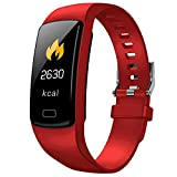 Fitness Tracker with Heart Rate Watch, Activity Tracker Watch with Blood Pressure Measurement, Screen ip67 Waterproof, Sleep Monitor, Exercise Mode Pedometer Watch for Men Women Kids.