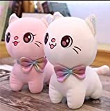 Teddy Daddy - Kitten Kitty Cat Soft Toy, Latest Super Duper Quality, Pretty Cute Plush Toy ( 25 cm - Medium | Pink | Beige | Multi Color )