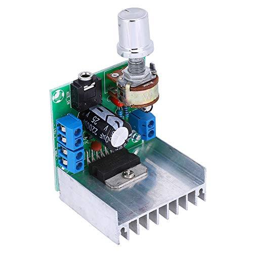 Módulo De Placa Amplificadora Placa Digital De 2 Canales Módulo Amplificador De Potenciómetro De Alta Potencia TDA7297 12V