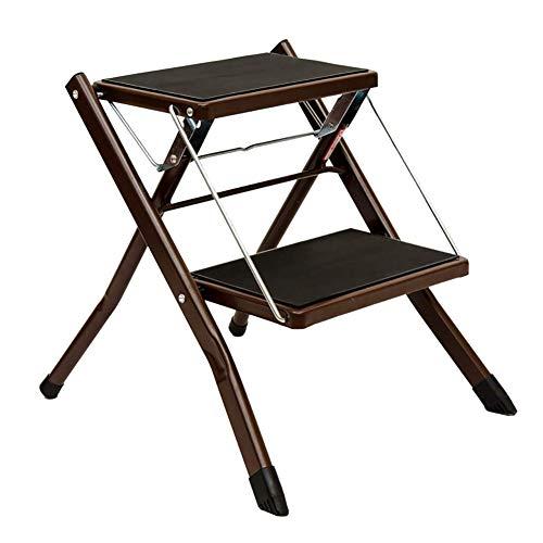 NINHXUE Opvouwbare tweetraps Ladder - Antislip Stevige Ladder - Draagbare Thuis Stap Kruk, Stap Kruk - Multi-Functie
