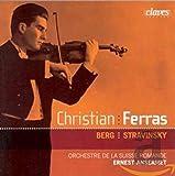 Berg/Stravinsky: Vln Concertos