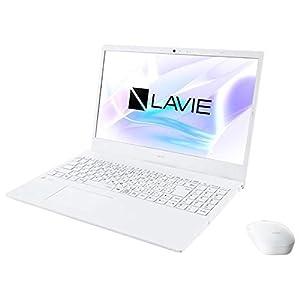 "NEC LAVIE N15 N1535/AAW(パールホワイト)15.6型ノートパソコン(Ryzen 3/4GB/256GB)Microsoft Office H..."""