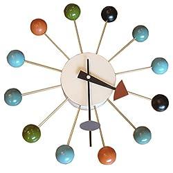 MLF Nelson Multi-Color Ball Clock.