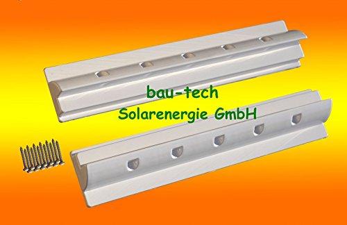 Westech® Dachspoiler 55cm KFZ Wohnmobil Dachbefestigung für 1 Solarmodul