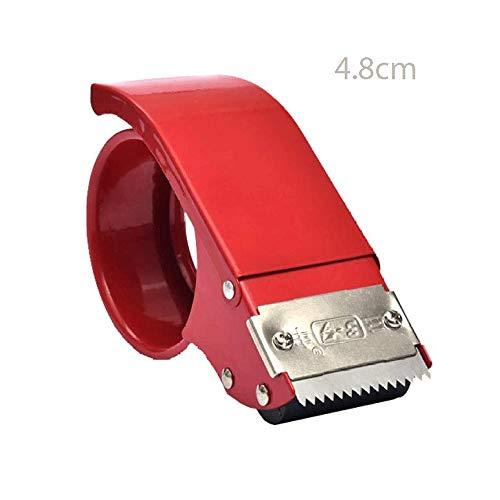 SMX Deber pequeña Dispensador de Cinta de Escritorio no Slip Ideal for Grandes volúmenes de Paquetes de Sellado, empaque y Embalaje En casa, Oficina o Mailroom (Size : 4.8cm)