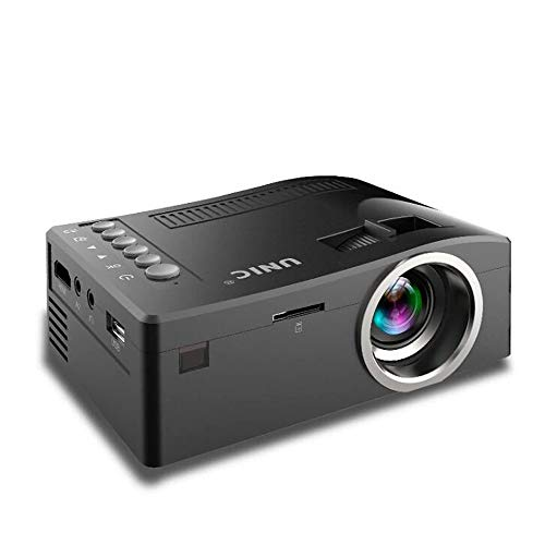 LED-projector Full HD 1080p home cinema Beamer Goedkope Projector met HDMI AV SD VGA Full HD 1080P Beamer Home Theater Systems,Black