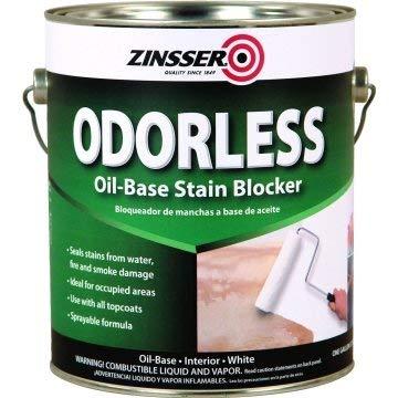 Zinsser 1 Gallon Bulls Eye Odorless Solvent-Based Primer Sealer - White