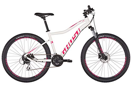 Ghost Lanao 2.7 AL W 27.5R Woman Mountain Bike 2019 (S/40cm, Star White/Ruby Pink)