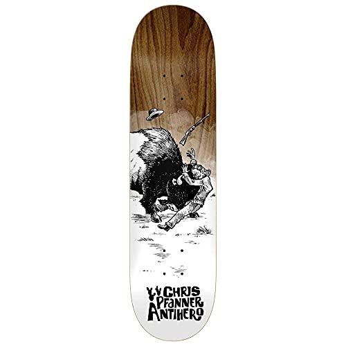 Anti Hero Pfanner How The West - Tavola da skateboard in varie macchie di legno, 20,5 cm