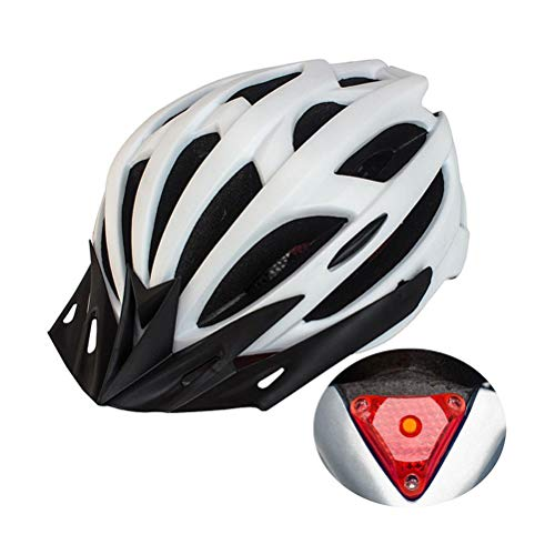 Terzsl Casco de ciclismo para hombre y mujer, diseño de 21 orificios,...