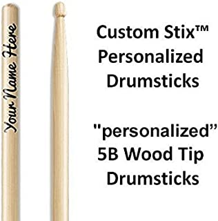 Personalized Drumsticks (1 Pair with Each Order) Personalized custom drumsticks