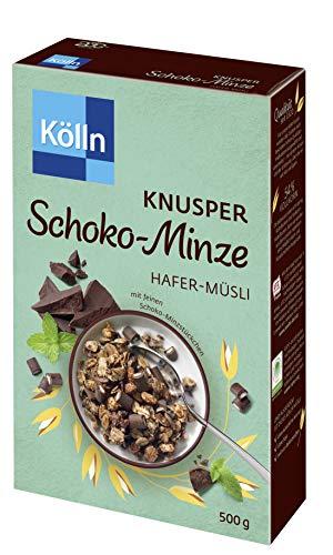 Kölln Müsli Knusper Schoko-Minze, 7er Pack (7 x 500 g)