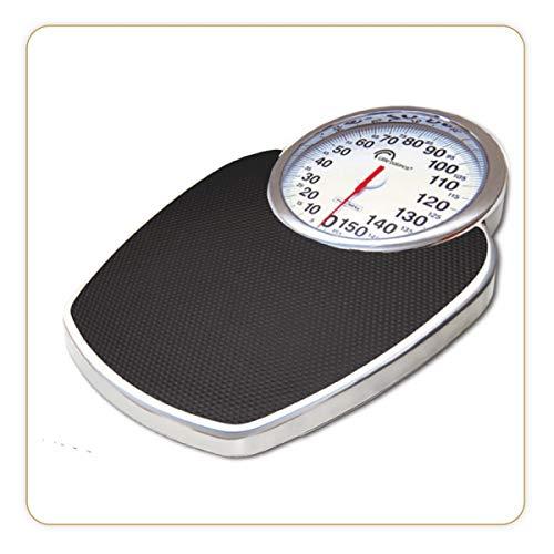 LITTLE BALANCE Pro M160 - Pèse-personne mécanique - 160 kg / 1 kg - Design semi médical, type professionnel