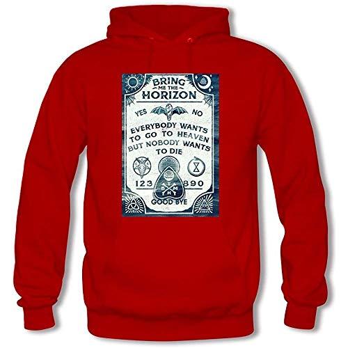 Bring Me The Horizon Custom Men's Hoody Hoodie Hooded Sweatshirt (Red)