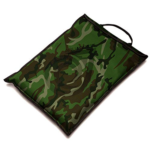Aqua Quest Storm Laptop Case - 100% Waterproof Pouch for Apple, Samsung, Acer, Dell, Asus, Lenovo, HP Lightweight Sleeve - 11, 13, 15, 17 inch, Black, Red, Green, Blue, Grey, Camo (11 inch, Camo)