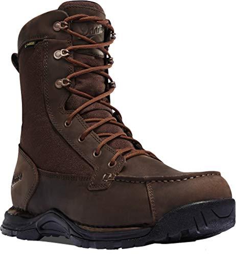 Danner mens Sharptail Hunting Shoes, Dark Brown, 8 Wide US