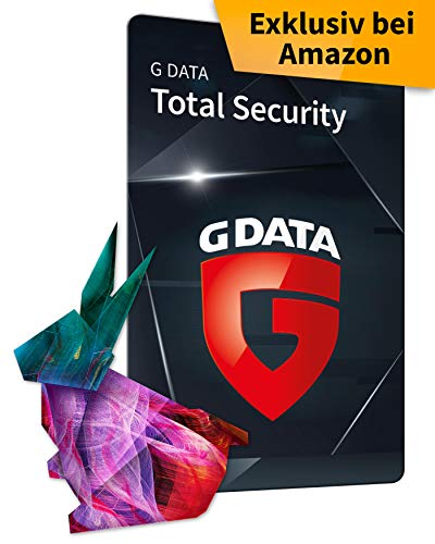 G DATA Total Security 2020 | 1 Gerät - 1 Jahr, Code, frustfreie Verpackung | Antivirus für Windows, Mac, Android, iOS | Made in Germany