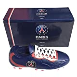 La Plume Dorada Hucha PSG en forma de zapato de fútbol
