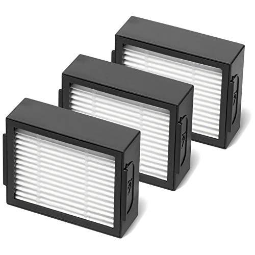 ルンバ e5 / i7 / i7+ / i3 / i3+ 用ダストカットフィルター(3個セット)互換品