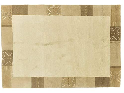 Teppichprinz Indo Nepal - Alfombra (176 x 122 cm, 180 x 120...