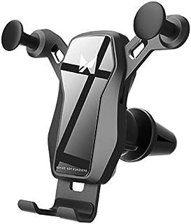 WOZINSKY Gravity uchwyt samochodowy na smartfon z formacie poprzecznym do kratki wentylacyjnej uchwyt samochodowy uchwyt n...
