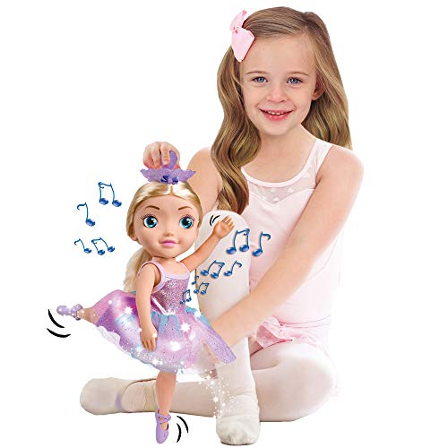 BANDAI - Bailarina Dreamer-Grande Bailarina de 45 cm - Muñeca Musical Que Baila de Verano, HUN8731