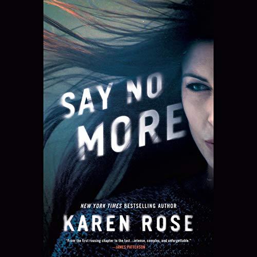 Say No More audiobook cover art