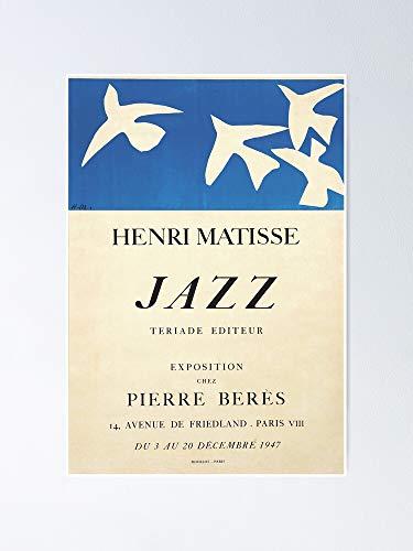 AZSTEEL Henri Matisse Exhibition Poster 1947 Poster