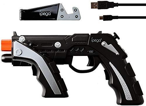 IPega Gun Gaming Controller Black, PG de 9057, Fã ¼ r Smartphones