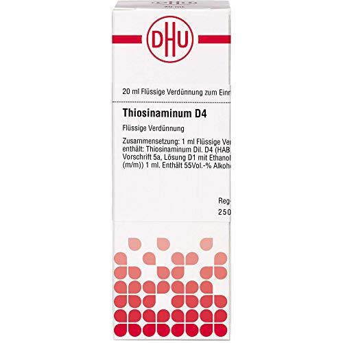 DHU Thiosinaminum D4 Dilution, 20 ml Lösung