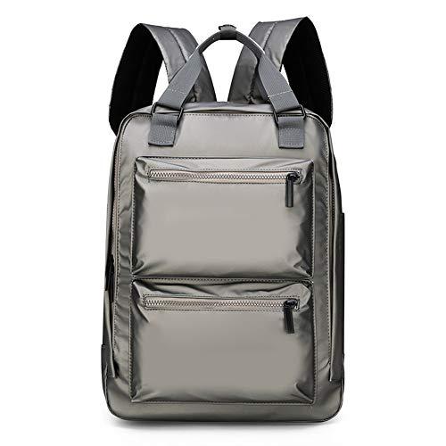 BARUYO Zaino Da Viaggio Impermeabile in Nylon Antifurto Da Uomo Borse Per Laptop Borsa a Tracolla Leggera E Traspirante Multi-tasca Casual Traspirante 29cmX10cmX41cm/grigio