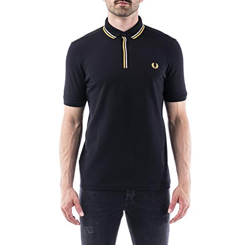 Fred Perry Tipped Placket Polo Shirt, Polo - S